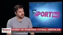 ProSport LIVE 18 iunie! Faceţi cunoştinţă cu Bucharest Rebels, campioana României la fotbal american. De la bijutier, la electrician: cine sunt oamenii care practică acest sport
