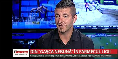 """VIDEO   """"Din păcate, patronii din Liga 1 nu au cultura fotbalistică"""". Retras din activitate, Galamaz a fost ofertat de trei echipe în această vară"""