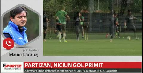 """VIDEO   Lăcătuş trage un semnal de alarmă: """"E greu să identifici un lider la Steaua în acest moment"""". Ce spune despre meciul cu Partizan"""