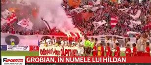 VIDEO | Gest oribil la Dinamo - Astra! Ce s-a petrecut în pauza meciului: reacţiile care au umbrit comemorarea lui Cătălin Hîldan