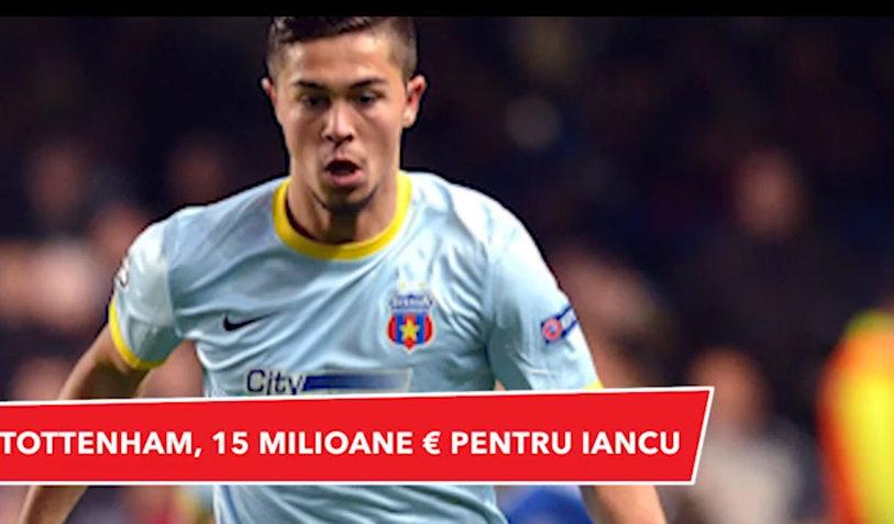VIDEO | ProSport headlines: Oferta lui Tottenham pentru Iancu, Bicfalvi la Dinamo şi Sandu, aproape de un club din Liga 1