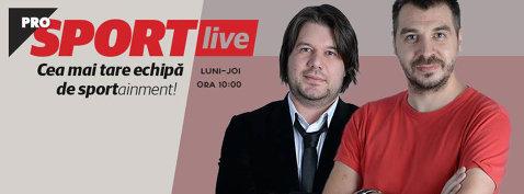 ProSport LIVE 26 mai | Suspendări record pentru blaturi în fotbalul românesc. Tricolorii, egali cu Congo înainte de euro