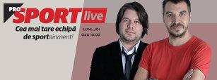 PROSPORT LIVE 30 august | Daum se pregăteşte de debutul pe banca României, Steaua joacă miercuri cu Iaşi