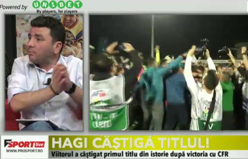 Viitorul, noua campioană a Ligii 1! Moment istoric pentru Hagi şi echipa sa. Toate reacţiile după meci