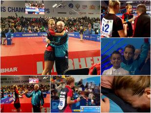 SPRINT PENTRU AUR | Eliza Samara este CAMPIOANĂ EUROPEANĂ LA TENIS DE MASĂ! Victorie în decisiv, 4-3, cu olandeza-chinezoaică Jie Li (11-6, 9-11, 3-11, 11-7, 12-14, 11-4, 11-4)