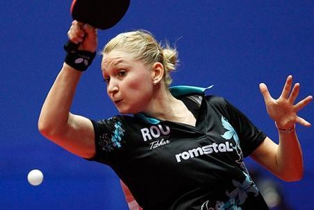 Dana Dodean a fost eliminată în optimile C.E. de tenis de masă de nemţoaica Han Ying