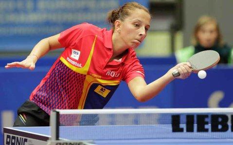 Campioana nu glumeşte! Samara şi-a asigurat bronzul la Europeanul de tenis de masă. Duminică joacă în semifinale