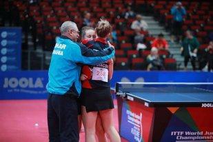 Performanţă ISTORICĂ! România a câştigat medalia de aur la Campionatele Mondiale de tenis de masă pentru juniori! Victorie superbă pentru Adina Diaconu şi Andreea Dragoman