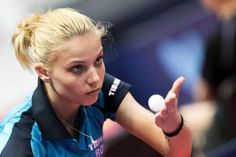 Dublă românească la tenis de masă: Adina Diaconu şi Cristi Pletea, campioni la Europe Youth Top 10
