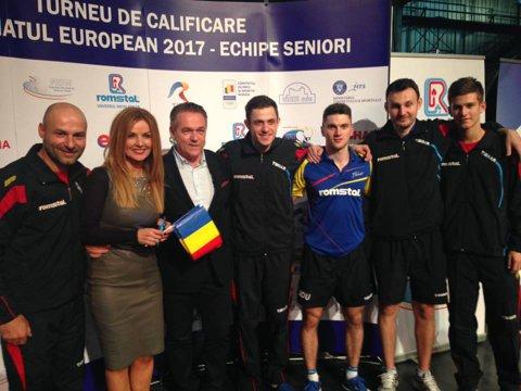 Naţionala masculină s-a clasat pe locul 11 la Europeanul de tenis de masă