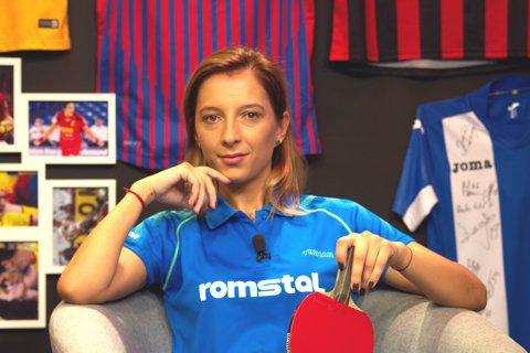 VIDEO   Eliza Samara şi antrenorul Viorel Filimon au dezvăluit la ProSport LIVE secretele din spatele aurului de la Campionatul European de tenis de masă