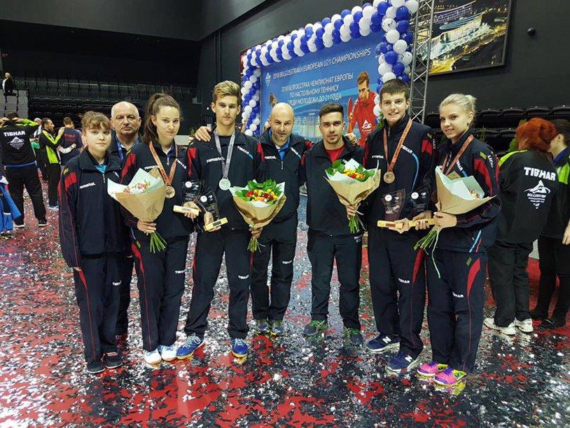 TENIS DE MASĂ   Trei medalii pentru România la Campionatul European de Tineret: zi intensă pentru Cristi Pletea, cu semifinală şi finală încheiate în set decisiv