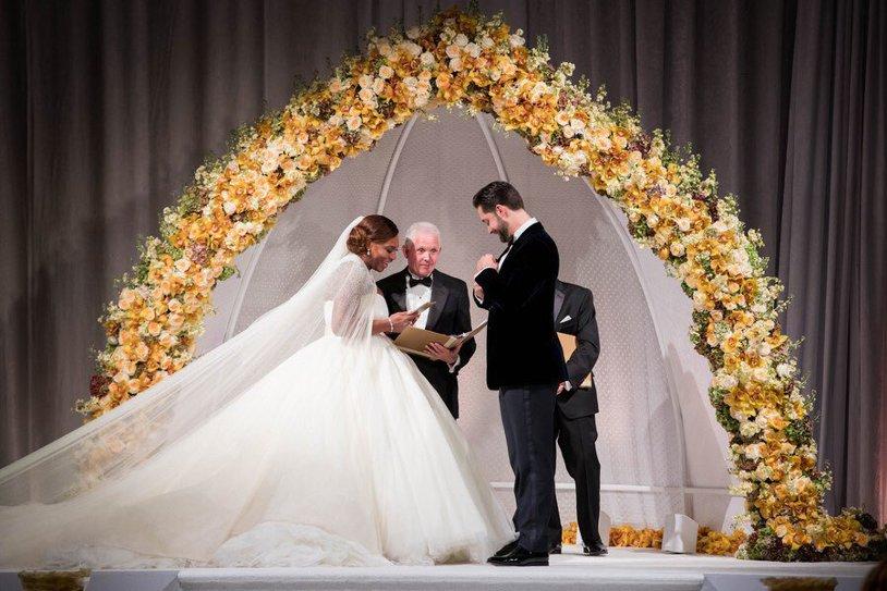 GALERIE FOTO | O noapte de neuitat. Au apărut imagini senzaţionale de la nunta Serenei Williams