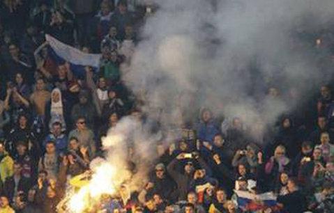 Rusia a depus plângere la UEFA şi susţine că meciul cu Muntenegru trebuia suspendat din minutul 1
