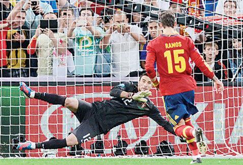 Sergio Ramos va lipsi de la ultimele meciuri ale Spaniei din preliminariile Euro 2016. Ibericii au nevoie de 3 puncte din dubla cu Ucraina şi Luxemburg ca să-şi asigure calificarea