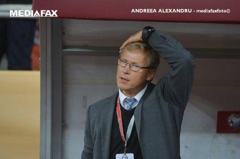 """Finlandezii acuză arbitrajul: """"Am văzut de pe margine că a fost penalty, dar şi un cartonaş roşu"""""""