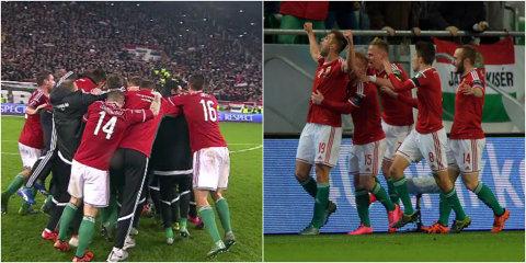 Bucurie la Budapesta! Ungaria merge la Euro 2016, după ce a învins Norvegia în baraj! Maghiarii, din nou la un turneu final după 30 de ani de aşteptare!