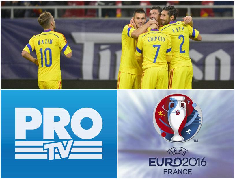 OFICIAL   Euro 2016 se vede la ProTV! Ce meciuri vor putea fi urmărite în toate rețelele de cablu din România