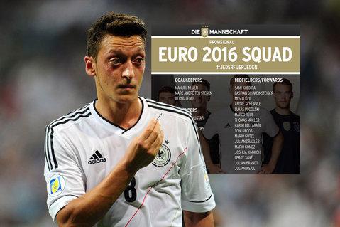 Lotul Germaniei pentru Euro 2016. Low a convocat 27 de jucători şi va renunţa la 4