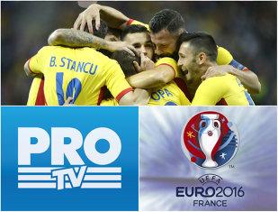Euro 2016 - ProTV transmite LIVE 23 de meciuri. Programul optimilor la Campionatul European şi care e meciul difuzat în direct zi de zi