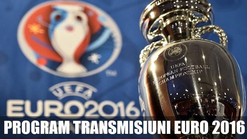Programul complet Euro 2016 şi transmisiuni TV. Unde urmărim LIVE meciurile de la Campionatul European din Franţa.  Toate partidele sunt pe Dolce Sport, ProTV transmite 23