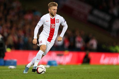 """Blaszczykowski: """"Nu cred că sunt talismanul echipei!"""" Polonia n-a pierdut niciun meci în care mijlocaşul de 30 de ani a marcat"""