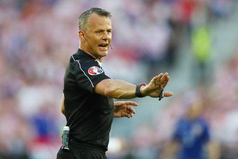 Olandezul Bjorn Kuipers va arbitra meciul Franţa - Islanda
