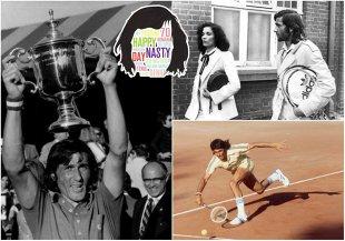 HAPPY NASTY DAY | Viaţa românului care a schimbat tenisul mondial, în 100 de fotografii spectaculoase | GALERIE FOTO