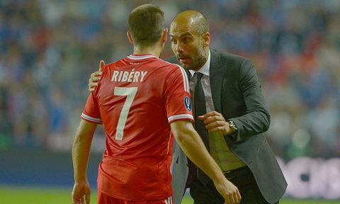 Reacţia plină de gentileţe a lui Pep Guardiola după atacul fără perdea al lui Ribery