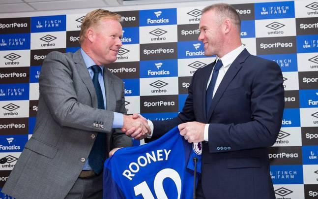 """Dezamăgit şi nu prea! Ronald Koeman: """"Rooney va suporta consecinţele, dar..."""""""