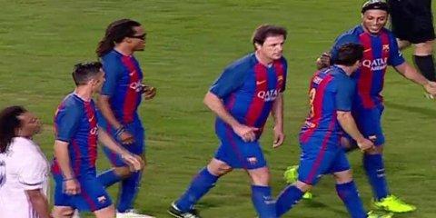 Gică Popescu face cuplu cu Nadal! A fost convocat în echipa de legende a Barcelonei în meciul cu legendele lui Manchester. Paul Scholes şi Dwight Yorke nu lipsesc de la United