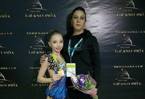Performanţă pentru gimnastica ieşeană! Laura Aniţei, medaliată cu bronz la un puternic turneu desfăşurat în Ucraina