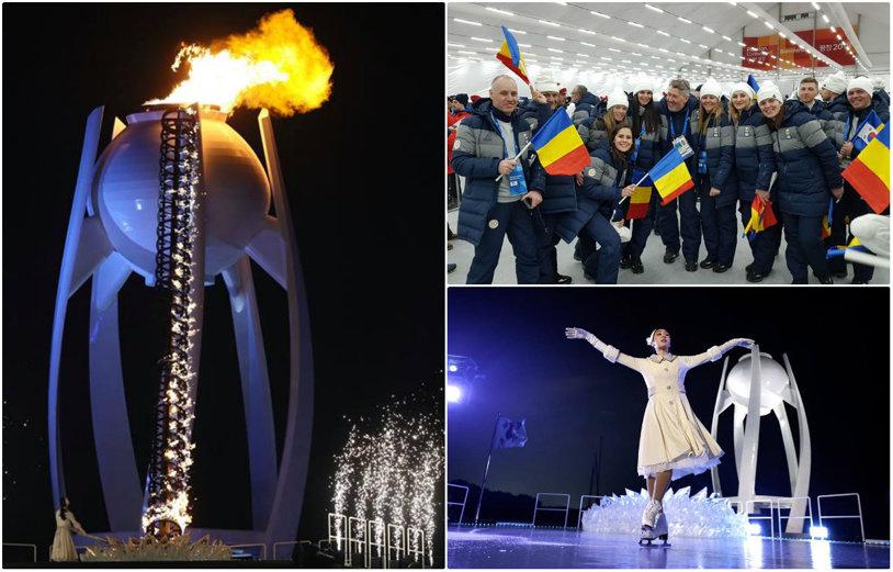 GALERIE FOTO   Jocurile Olimpice de iarnă de la PyeongChang au debutat sub semnul păcii şi al frigului