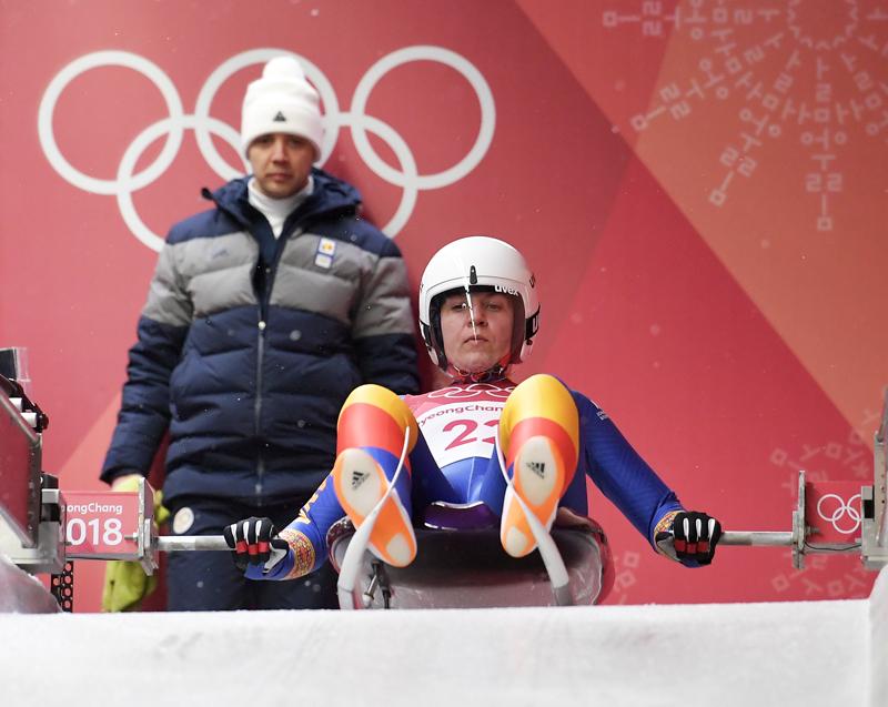 """Povestea celui mai bun rezultat al tricolorilor la Jocurile Olimpice de iarnă 2018: Raluca Strămăturaru, locul 7 în proba individuală de sanie, România a patra naţiune. """"La un moment dat a trebuit să mă sprijin, aveam emoţii mari"""""""