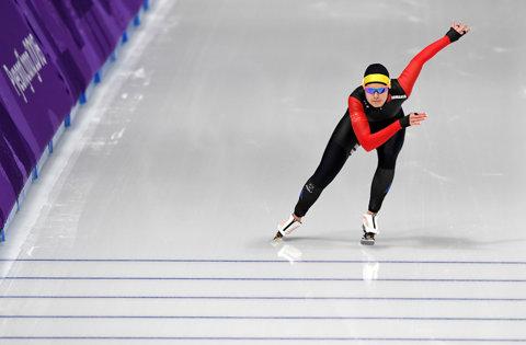"""JO de iarnă. Alexandra Ianculescu – locul 31 în proba de 500 de metri la patinaj viteză. """"Am vizualizat această cursă timp de zece ani. Mi-am împlinit un vis, la Beijing în 2022 ştiu că pot veni între primele zece locuri"""""""