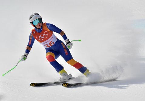 JO de iarnă 2018. Ania Caill, locul 28 la coborâre. Vedeta Lindsey Vonn, primul podium la PyeongChang