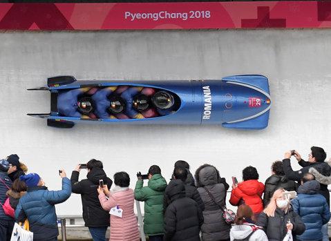 JO 2018 | Echipajul masculin de bob patru, locul 29 după primele două manşe
