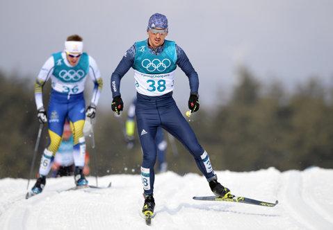 """JO de iarnă. Paul Pepene, locul 32 la cea mai dură probă a Jocurilor Olimpice – schi fond 50 de kilometri clasic. """"E greu, te bucuri când treci linia de sosire"""""""