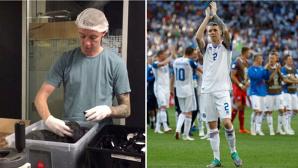 """Lucrează într-o fabrică de sare, şi-a luat concediu pentru a ajunge la Cupa Mondială şi e liderul selecţiilor în naţionala Islandei. 'Nu pot să stau!"""""""