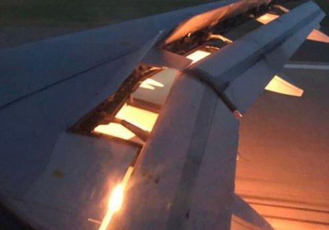 BREAKING NEWS | Aproape de tragedie! VIDEO Avionul care transporta o echipă de la Cupa Mondială a luat foc în aer