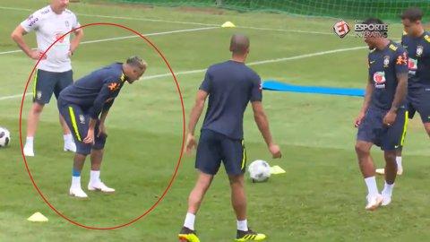 UPDATE | Care e starea medicală a lui Neymar după ce a părăsit antrenamentul şchiopătând | VIDEO