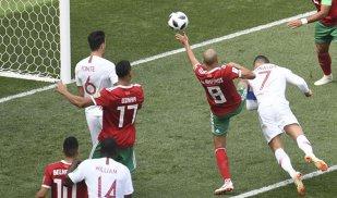 Tot Ronaldo! Cristiano doboară recorduri şi-i trimite pe marocani acasă