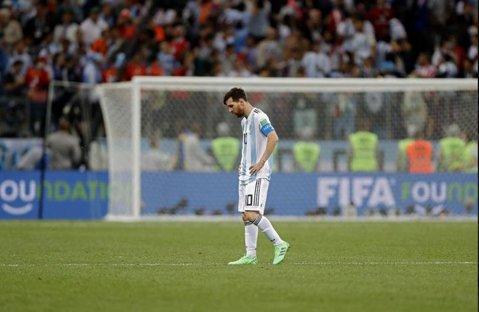 """Sampaoli, furibund după eşecul istoric în faţa Croaţiei: """"Messi e limitat""""! Argentina, la un pas să părăsească Cupa Mondială"""