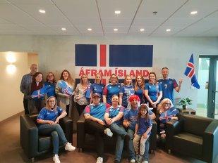 """EXCLUSIV   Campionatul Mondial a blocat Islanda! Detaliile incredibile ale unui român: """"Educatorii au anunţat părinţii să vină să-şi ia copiii, pentru că se uită la meci"""""""