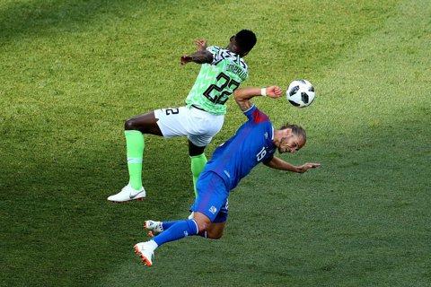 """Au scufundat """"Vikingii""""! Dubla lui Musa a pecetluit soarta unui meci urmărit de o întreagă naţiune. Cronica partidei Nigeria - Islanda 2-0"""