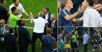 """Scene care nu fac cinste, la finalul meciului Germania - Suedia. VIDEO   Nemţii s-au comportat ca niciodată, selecţionerul nordicilor a izbucnit: """"M-au enervat şi înfuriat. Nu se face aşa ceva!"""". UPDATE   Gestul prin care Federaţia de la Berlin s-a scuzat public"""