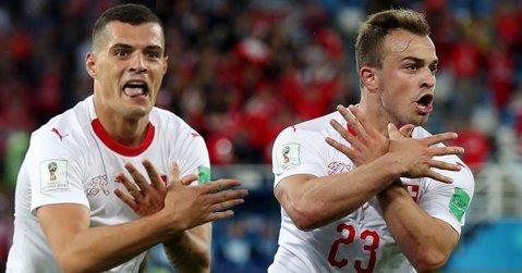 Prima măsură luată de FIFA împotriva lui Xhaka şi Shaqiri. Ecoul gesturilor pe plan internaţional