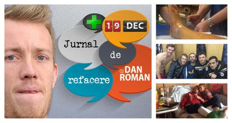 """Jurnalul de refacere al lui Dan Roman, ziua 64: """"E dificil să treci peste o eroare mare. Şi mie mi s-a întâmplat şi m-a urmărit mult timp"""""""