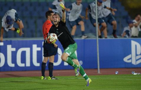 Bulgarii, mai cu MOŢI | Ludogoreţ - Steaua 1-0, 6-5 după penalty-uri. Moţi a apărat două lovituri de la 11 metri, Steaua e OUT din Liga Campionilor