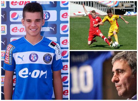 """Ce şansă pentru Ianis Hagi, la 16 ani. Italienii anunţă că Inter e interesată de fiul """"Regelui"""""""